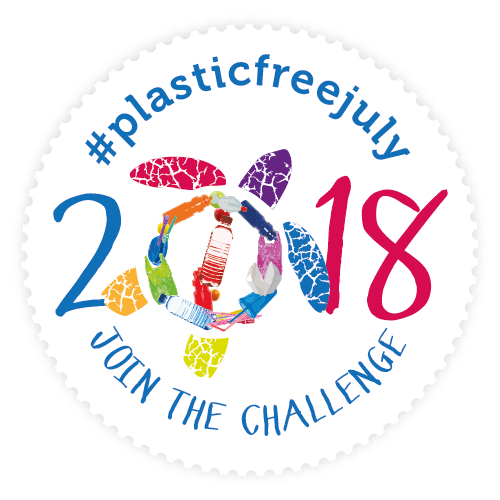 #Plasticfreejuly2018-join-the-challenge stamp small